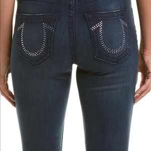True Religion Skinny Jeans with pocket detail